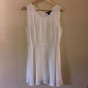 NWT Forever 21 White Dress Sz large